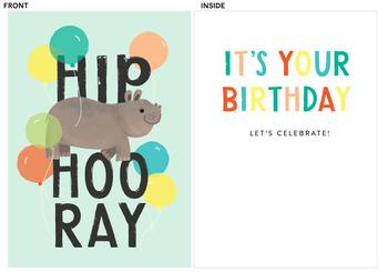 Hip HIPPO Hooray!