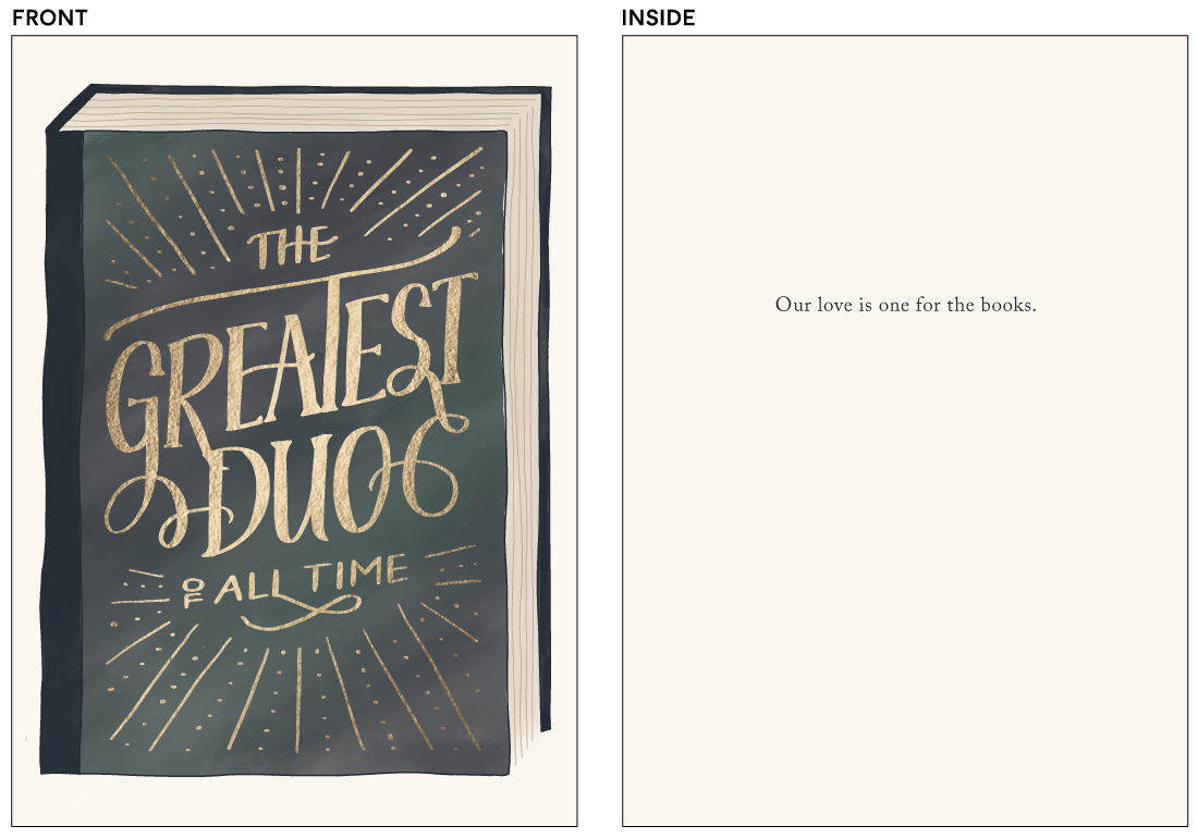 greeting cards - Greatest Duo by Anchored Paper Co.