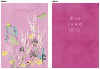 Flowery Birthday Wishes