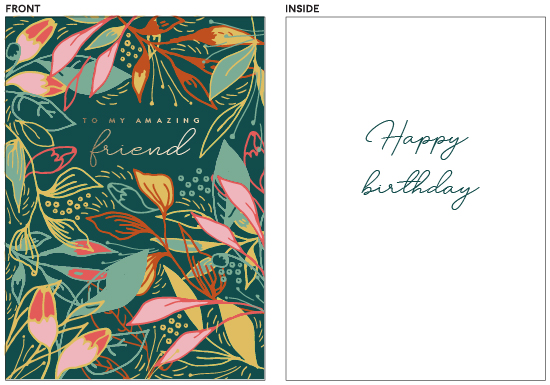greeting cards - Tropical mess by Lucrecia