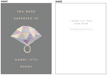 Marry into money