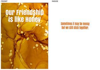 Friendship Like Honey