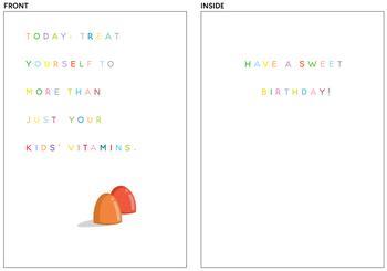 Birthday Vitamins