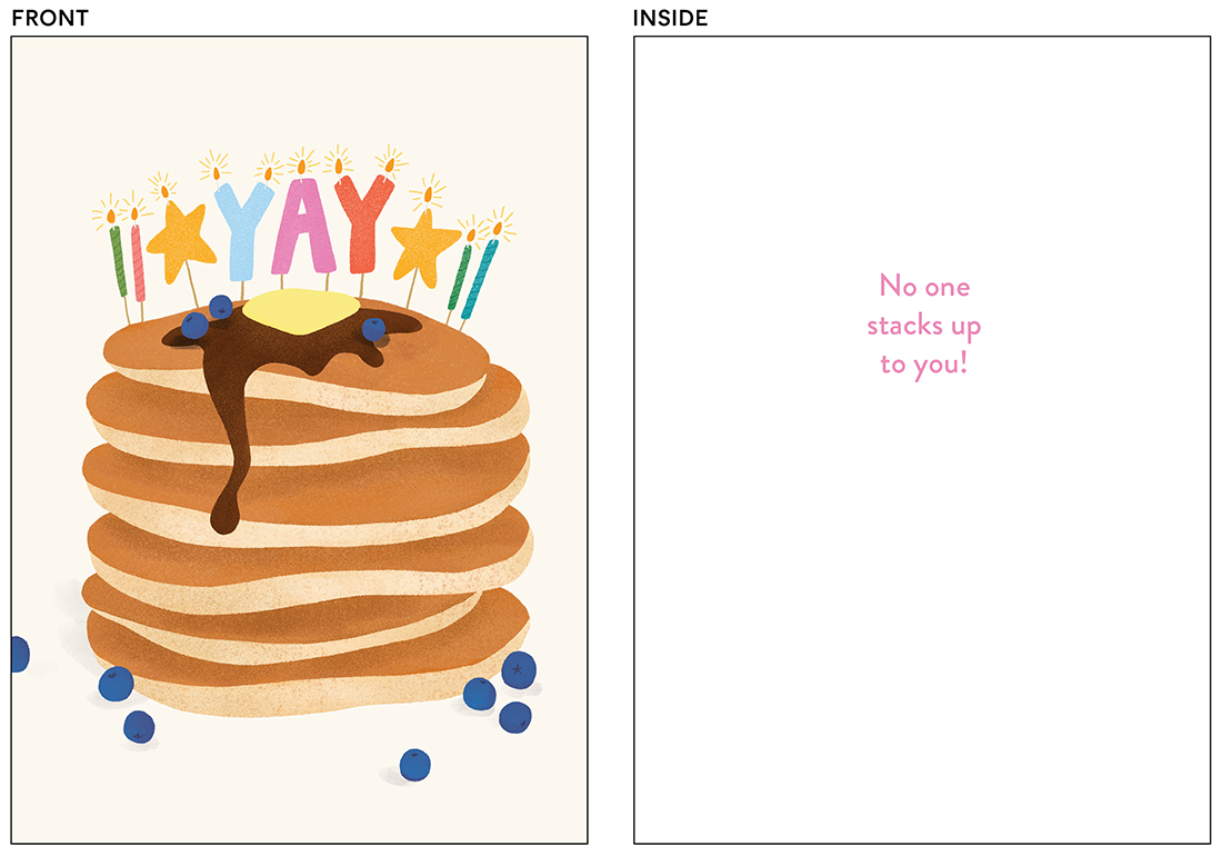 greeting cards - You Stack Up by Ana Peake