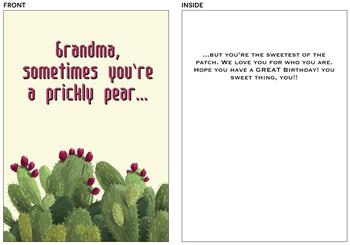 Prickly Pear Grandma