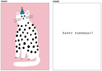 Purrrfect Birthday