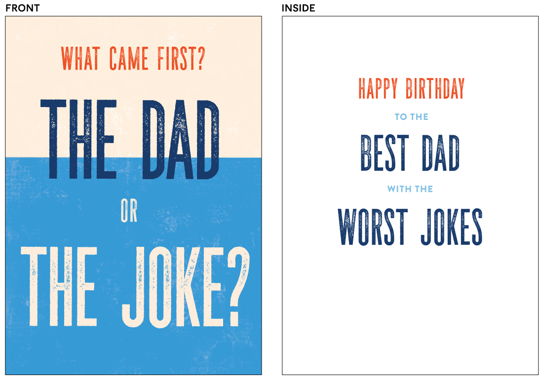 greeting cards - The Dad by Pixel and Hank