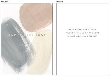 Modern Birthday Wish