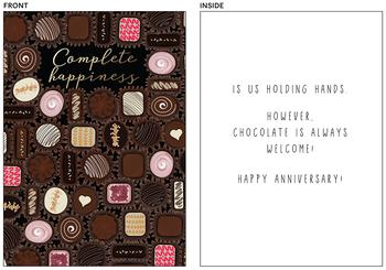 Complete happiness is (chocolate edition)