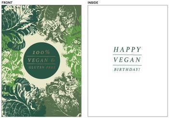 Vegan Birthday