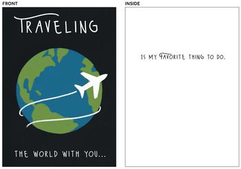 Traveling the World with You...