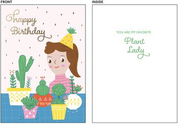 Plant Lady Birthday