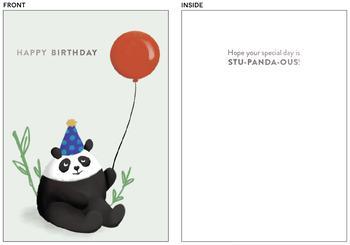 Stu-panda-ous Birthday