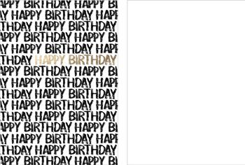 Happy Birthday you!!