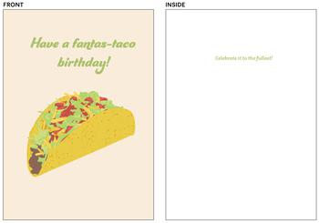 Fantas-taco Birthday