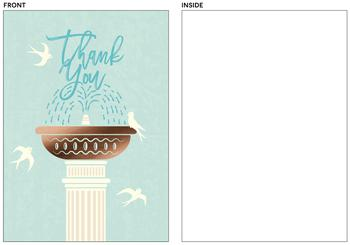 Fountain of gratitude