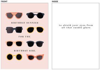 Birthday Sunnies