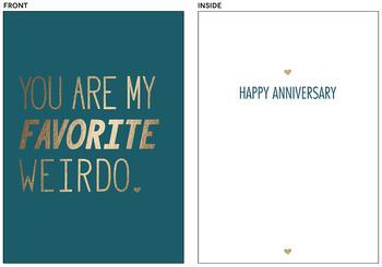 You Are My Favorite Weirdo