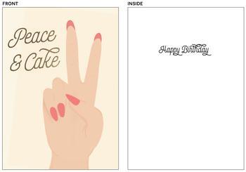 peace & cake