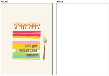 cake wasted!