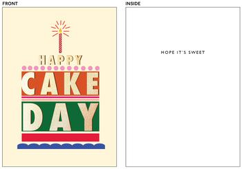 foiled happy day