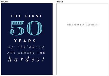 first 50