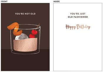 Old Fashioned Birthday