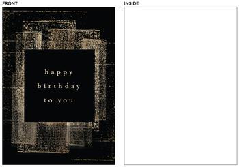 Stamped Birthday