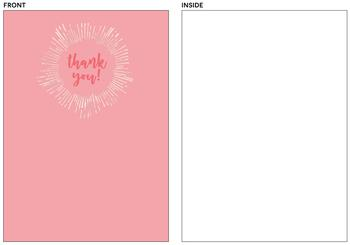 A simple thank you