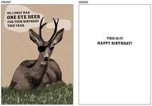 One Eye Deer by Christina Wingfield
