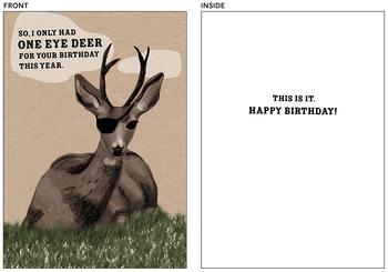 One Eye Deer