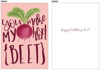 Heart Beet Birthday