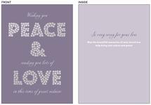Peace Love & Sympathy by Mary Kay Garttmeier