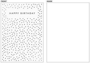 starry birthday
