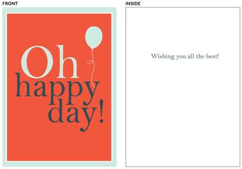 Oh, Happy Day