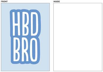 HBD BRO