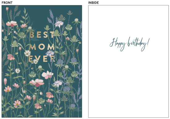greeting cards - Wild flowers by Lucrecia