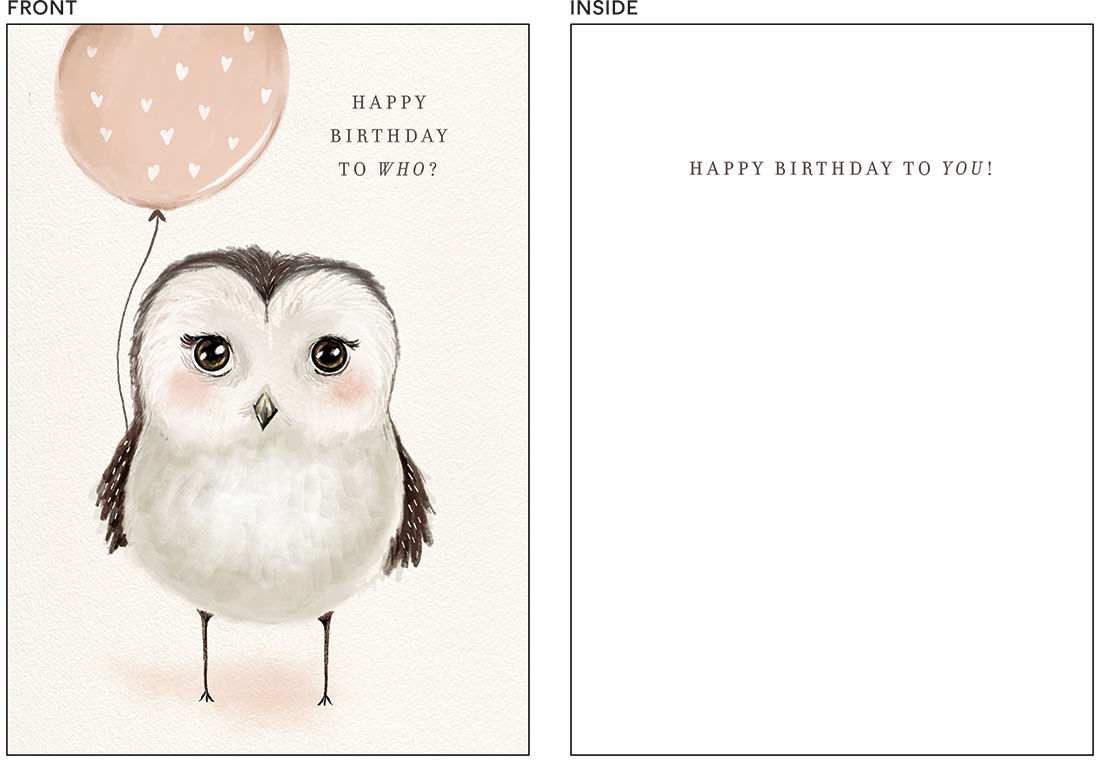greeting cards - Who's Birthday by Amy Moen