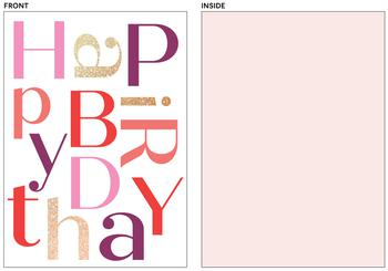 Birthday Jumble