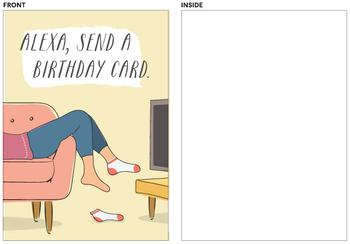 Alexa Send A Card