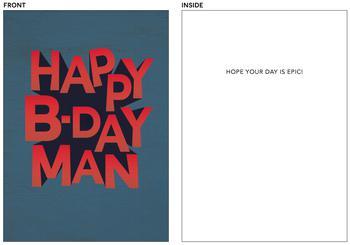 B-day Man