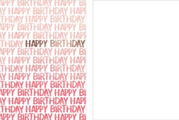 Happy Birthday you!