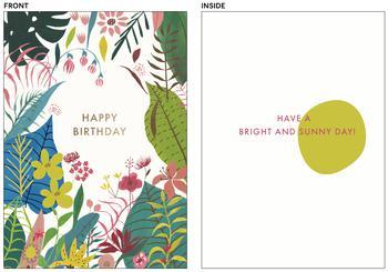 Bright and sunny birthday