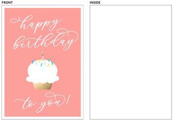 Vibrant Cupcake