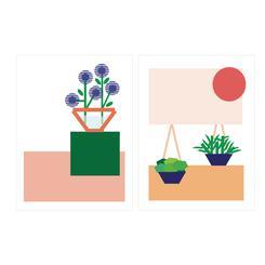 In the Garden #3 & #4