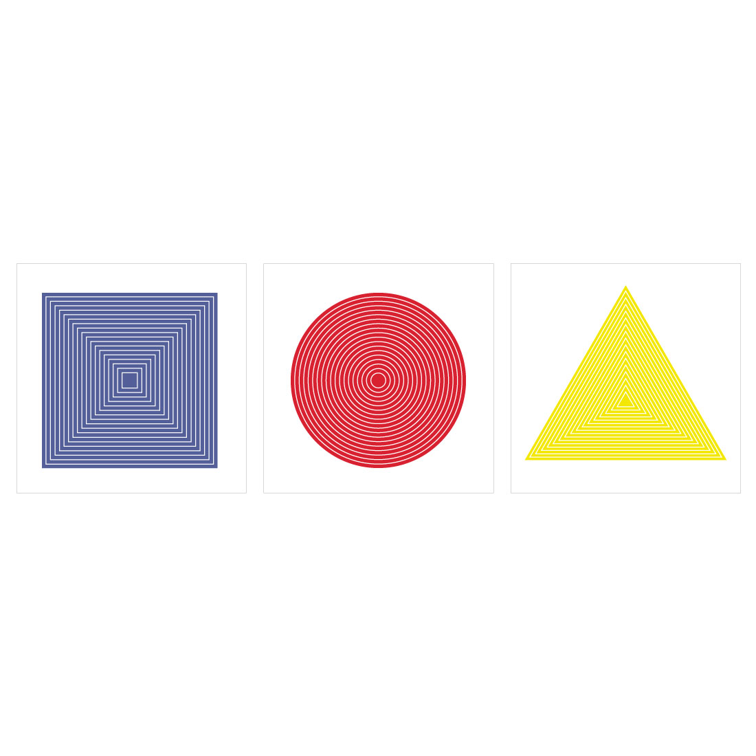 - Primary color geometry by Marco Berrios