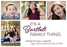 it's a family thing by Leslie Borchert