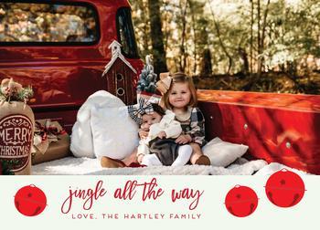 Jingle All the Way photo card
