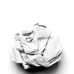 Off White Paper Flower