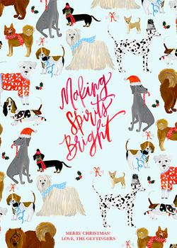 Making Spirits Bright Dogs